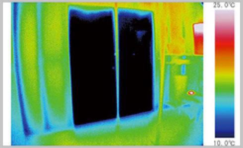 アルミ(単板ガラス)の部屋のイメージ